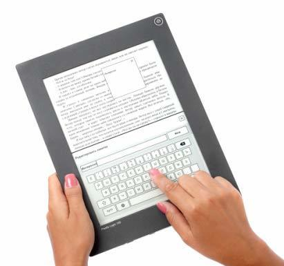 Un e-Reader avec écran plastique pour le monde éducatif   ACTU DES EBOOKS   Scoop.it