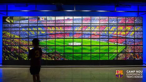 Nouvelles installations multimédias dans le Musée du FC Barcelone | FC Barcelona | Ecriture mmim | Scoop.it