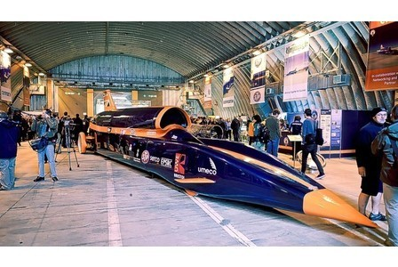 Millions hear roar of the Bloodhound being tested in Newquay | News of the Web | Scoop.it