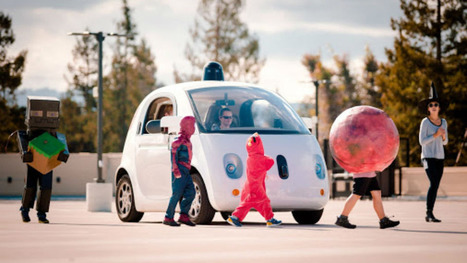 Google teaches its self-driving cars to be extra careful around children | NIC: Network, Information, and Computer | Scoop.it