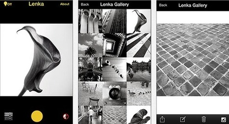 Lenka for iOS Gives Your Photos Moody Monochrome Magic | Image Effects, Filters, Masks and Other Image Processing Methods | Scoop.it