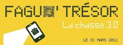 Faguo lance une opéation de street marketing melant chasse aux trésors et QR codes | Roofsight | Scoop.it