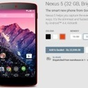 Buy Red Nexus 5 in India at Rs 32999 from Google Play Store Officially | Nexus Authority | Scoop.it