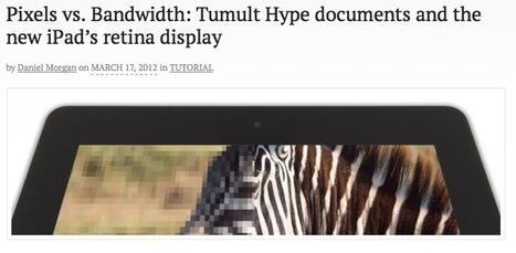 Pixels vs. Bandwidth: Tumult Hype documents and the new iPad's retina display | Tumult Inc. Blog | publishing | Scoop.it