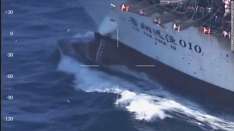 Argentina sinks Chinese vessel, cites illegal fishing | IB Geography ISB | Scoop.it