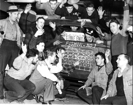 Anniversary of the 1937 US sit-down strike wave: Remembering another Occupy movement | real utopias | Scoop.it