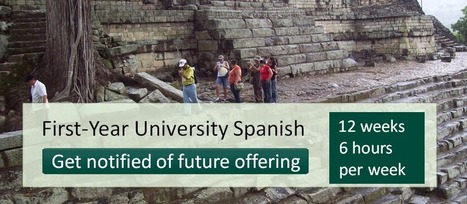 Spanish MOOC | The first open online Spanish course for everyone | The Open Classroom - Open Learningk12 | Scoop.it