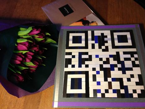Woven QR Code Birthday Card | Flickr - Photo Sharing! | VIM | Scoop.it