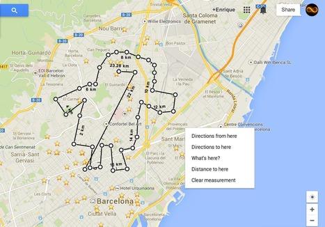 Google Maps por fin permite medir y calcular distancias | MLKtoSCL | Scoop.it