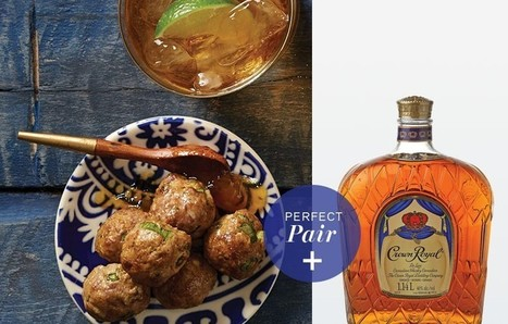 Vindaloo Meatballs + Crown Royal | Food for Foodies | Scoop.it