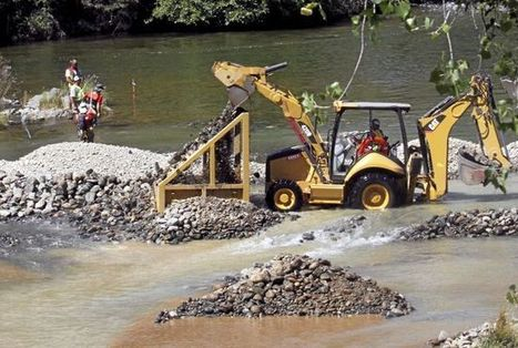Salmon spawning habitat project begins in Oroville - Enterprise-Record | Fish Habitat | Scoop.it
