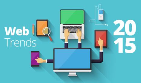 7 web design trends for 2015 | Web Design SUMO | Scoop.it