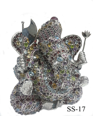 Sterling Silver Ganesha Statue   Indian shaily crafts   Scoop.it