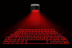 Virtual Bluetooth-based Laser projection keyboard from Celluon   TECHUPDATES.IN   techupdates.in   Scoop.it