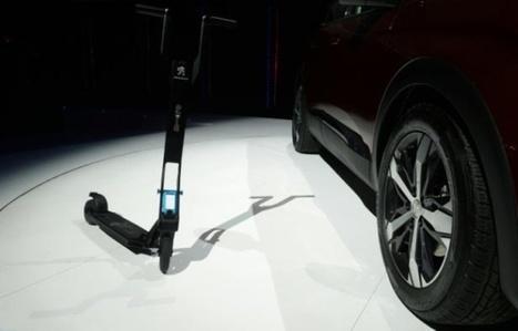 Mobilité: une trottinette électrique dans le coffre de la prochaine Peugeot | Planete DDurable | Scoop.it