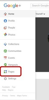 Create a Google+ Brand Page from Google My Business, Google+, YouTube or a mobile | GooglePlus Expertise | Scoop.it