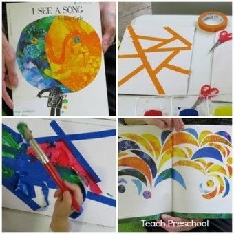 Exploring and designing stained glass art | Teach Preschool | Scoop.it