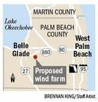 Wind-farm plan OK'd by Palm Beach County zoning panel | The Everglades Puzzle | Scoop.it