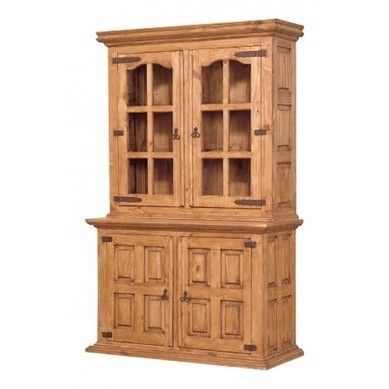Country Pine Hutch and Buffet | old world style furniture | Scoop.it