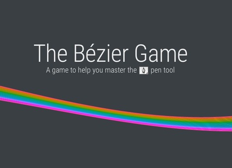 The Bézier Game | Webdesign & inspirations | Scoop.it