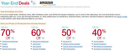 Amazon year end 2012 deals   fashion king   Scoop.it