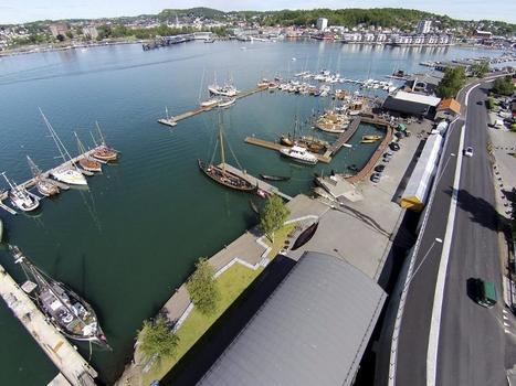 Sandefjords Blad - Har bygd 200 meter bryggekant på dugnad - Sandefjords Blad   Kystkultur i Norden   Scoop.it