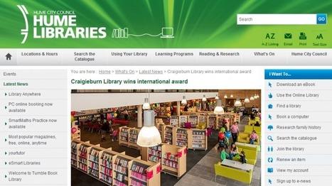 Un prix pour la bibliothèque du futur | Enssib | Bibliolecture | Scoop.it