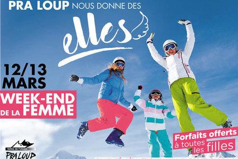 Pra Loup invite les femmes les 12 et 13 mars | Revue de presse internet | Scoop.it