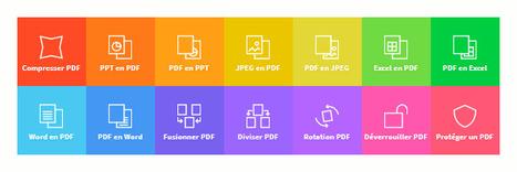 Smallpdf : une collection de 14 outils en ligne pour vos PDF | TICE | Scoop.it