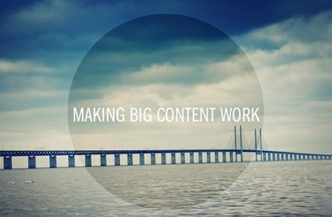 3 Strategies to Make Big Content Work for Your Brand | Beyond Marketing | Scoop.it