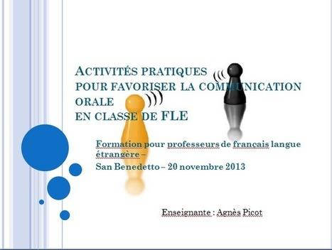 Site de Français Langue Etrangère | Aussi bien pour les profs que pour les étudiants... par Agnès Picot | Sites et Blogues de FLE : une sélection du CASNAV de l'académie de Nantes | Scoop.it