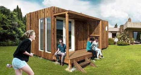 Immobilier: un studio prêt à poser dans son jardin, le Kub teste le marché français | Dans l'actu | Doc' ESTP | Scoop.it