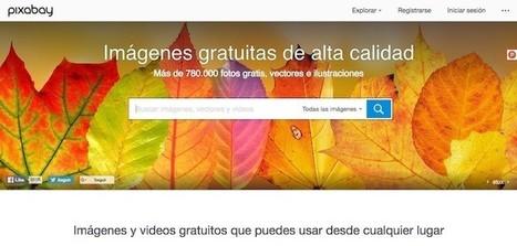 Llega la versión 2.0 de Pixabay, con decenas de miles de imágenes de dominio público | Educacion, ecologia y TIC | Scoop.it