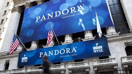 Pandora Shares Sink After Closing Bell on Weak Guidance | music and advertising | Scoop.it