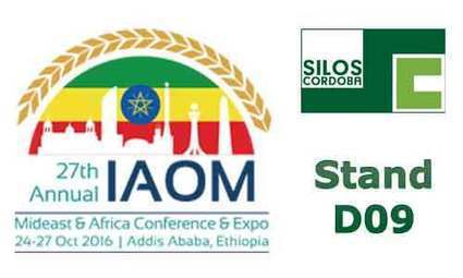 Grain handling and storage solutions to be exhibited at IAOM-ETHIOPIA 2016 | Grain Storage Trends and Innovations Worldwide | Scoop.it