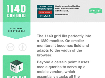 Which Is Right for Me? 22 Responsive CSS Frameworks and Boilerplates Explained   Design Shack   Responsive design & mobile first   Scoop.it