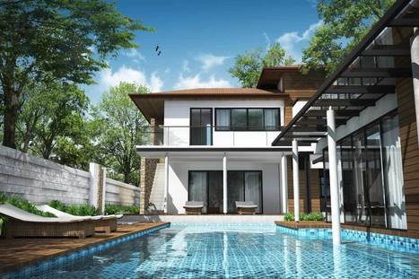 Le duel : toiture plate ou toiture en pente ? | Solutions pour l'habitat | Ma maison | Scoop.it