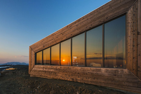 JVA's Rabot Tourist Cabin: A Neutral Volume in the Landscape | sustainable architecture | Scoop.it