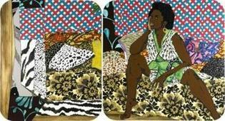 Art Review Mickalene Thomas at the ICA a dazzling display | Inspiring Contemporary Artists | Scoop.it