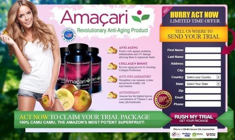 Amacari Review - GET FREE TRIAL SUPPLIS LIMITED!!! | SKIN CARE FERTILIZER | Scoop.it