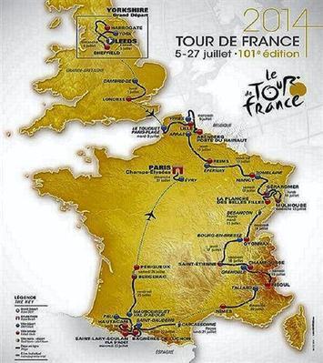 Cyclisme. Le Tour de France 2014 ne passera pas dans l'Ouest - Cyclisme - ouest-france.fr | Revue de Web par ClC | Scoop.it