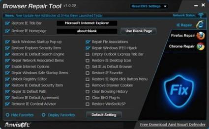 Réparer un navigateur Internet avec Browser Repair Tool | TranCool | François MAGNAN  Formateur Consultant | Scoop.it
