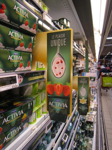 balisage rayon Activia | Marketing et Promotions | Scoop.it