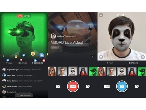 Facebook Live Getting Two-Person Remote Broadcasts, Pre-Scheduled Streams, MSQRD Masks/Effects | SocialTimes | SocialMoMojo Web | Scoop.it