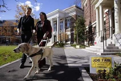 Employers' wariness thwarts many blind jobseekers - Peoria Journal Star | Visually Handicap | Scoop.it