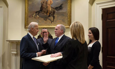 John Brennan sworn in on first draft of constitution – without the bill of rights | Gov and law Henry Hartzler | Scoop.it