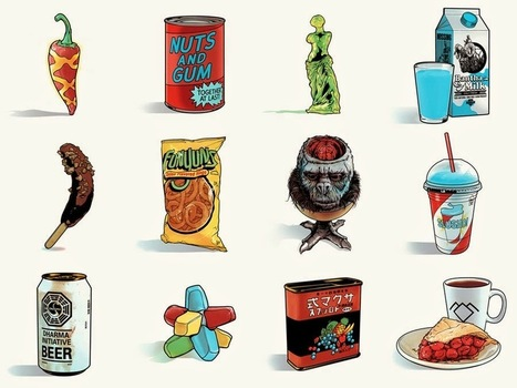 Fictional Foods | Brands & Culture | Scoop.it