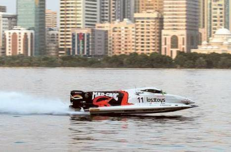 Mad Croc Selio to start from pole in Sharjah GP - gulfnews.com | Boat Racing | Scoop.it