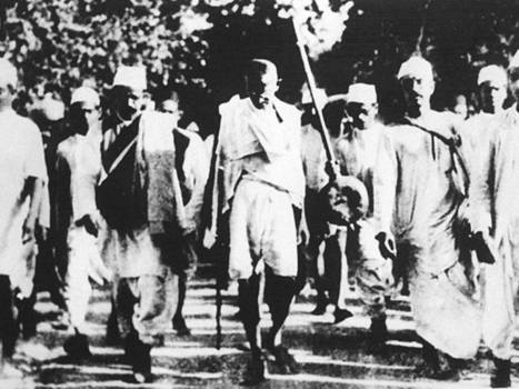 From Gandhi to Occupy: the story of peaceful protest - The Independent | Peer2Politics | Scoop.it