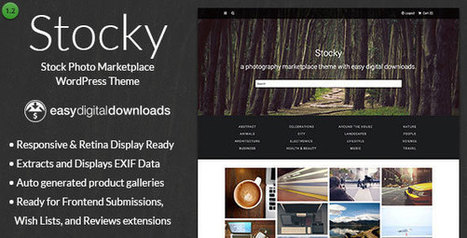 Stocky v1.2.1 - A Stock Photography Marketplace Theme - Yocto Templates | YOCTO WordPress Themes & Plugins | Scoop.it